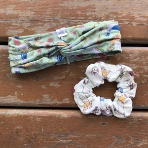 3/$30 - Bumblito Adult Headband and Scrunchie